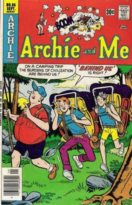 Archie and Me 86 - Campers - Jughead - Yellow Shorts - Woods - Canteen