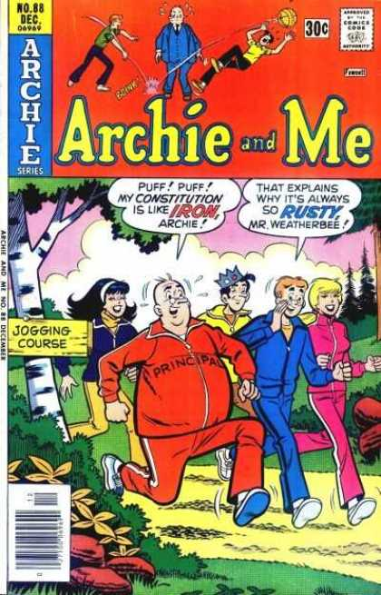 Archie and Me 88 - No 88 - Dec - Archie - Comic - Jogging