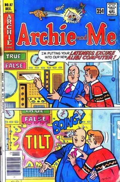 Archie and Me 97 - Two Men - Machine - Truefalse - Boy Nervous - Boing