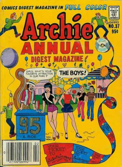 Archie Annual Digest 37
