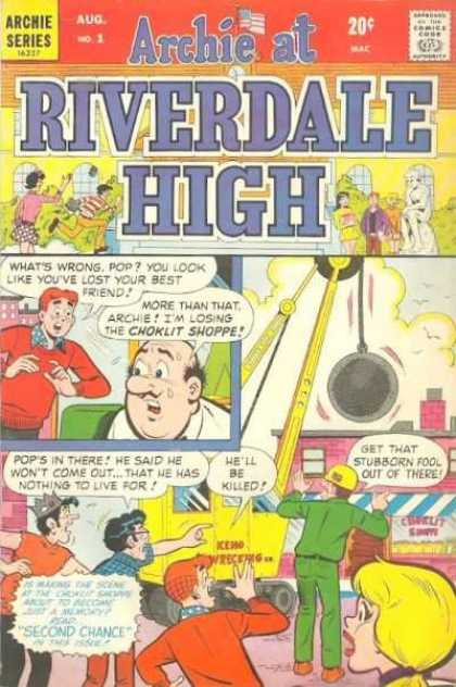 Archie at Riverdale High 1 - Wrecking Ball - Im Losing The Choklit Shop - Hell Be Killed - Get That Stubborn Fall Out Of Here - Pops In There
