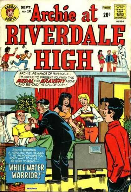 Archie at Riverdale High 10 - Man - Teens - Room - Flowers - Door