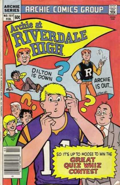 Archie at Riverdale High 101 - Boys - Man - Pennant - Girl - Woman - Stan Goldberg