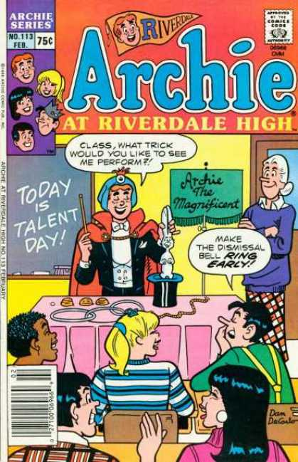 Archie at Riverdale High 113