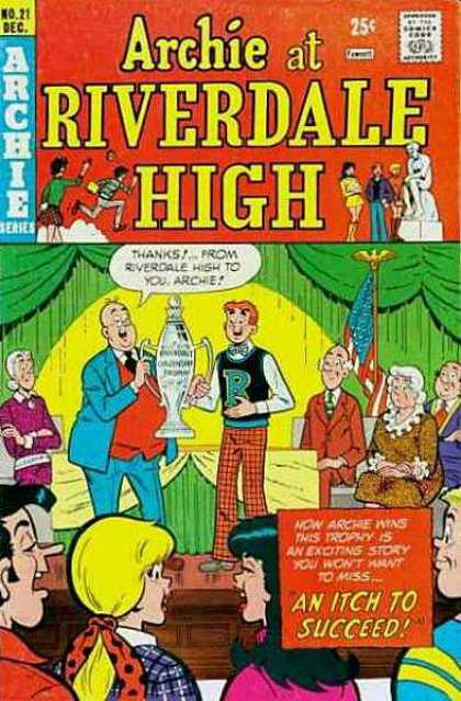 Archie at Riverdale High 21 - Up Above The Hill So High - Sparkwin - Roller Roaster - Amazecup - Zealushier