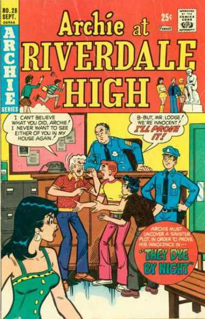 Archie at Riverdale High 28 - Approved By The Comics Code - Archie Series - Woman - Man - Statue