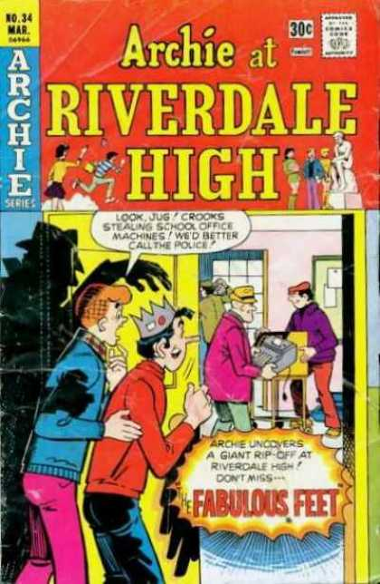Archie at Riverdale High 34 - Archie - Archie Comics - Riverdale Hight - High School - Fabulous Feet