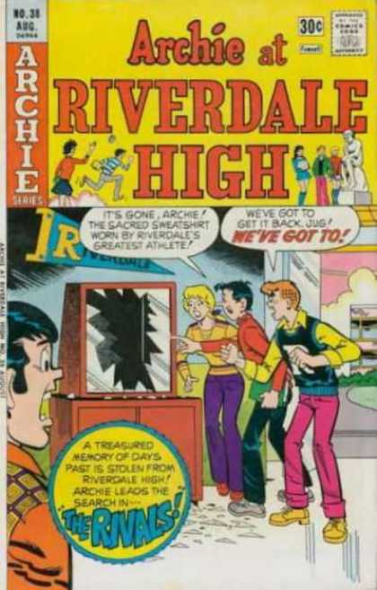 Archie at Riverdale High 38