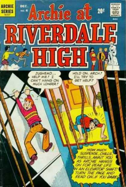 Archie at Riverdale High 4 - Danger - Hanging - Elevator Shaft - Broken Ropes - Suspense