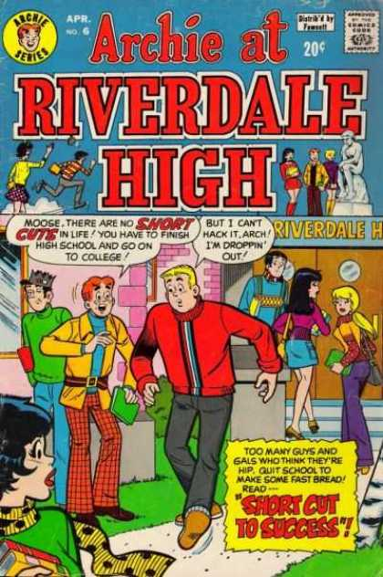 Archie at Riverdale High 6