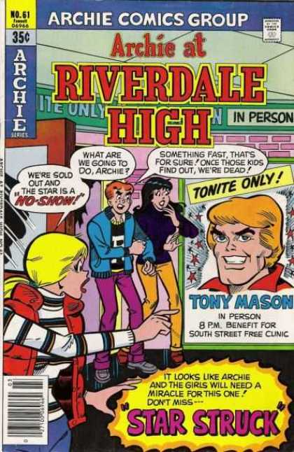 Archie at Riverdale High 61 - Archie Series - Girls - Boys - Tony Mason - Street