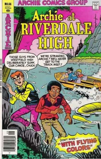 Archie at Riverdale High 66 - Archie Comics - Riverdale High - Boat - With Flying Colors - No 66