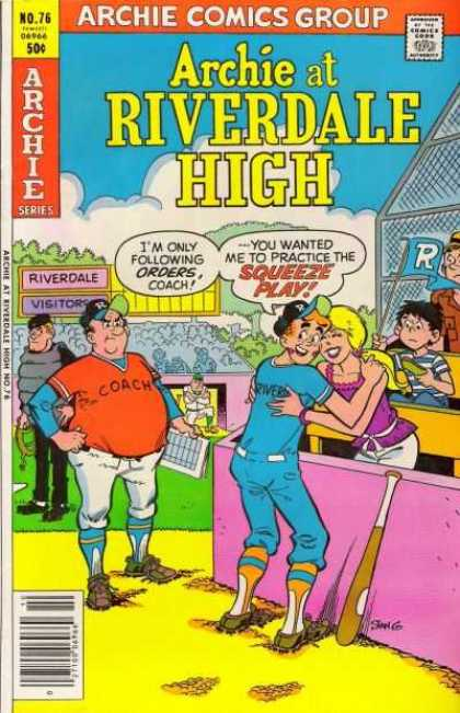 Archie at Riverdale High 76 - Stan Goldberg