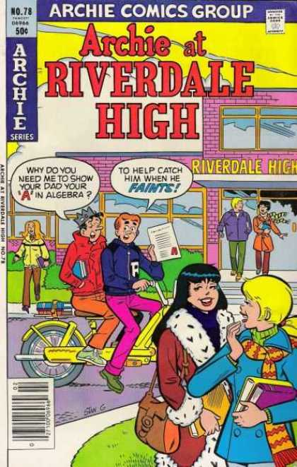 Archie at Riverdale High 78 - Stan Goldberg