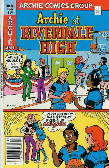 Archie at Riverdale High 84 - Basketball - Archie - School - Gym - Veronica - Stan Goldberg