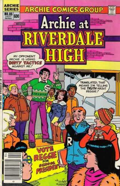 Archie at Riverdale High 85 - Reggie - School President - Teenagers - Candidate - Hat