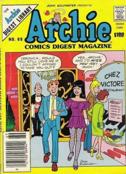 Archie Comics Digest 69
