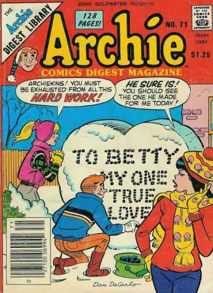 Archie Comics Digest 71