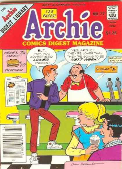 Archie Comics Digest 77