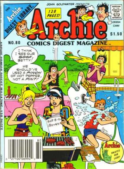 Archie Comics Digest 80