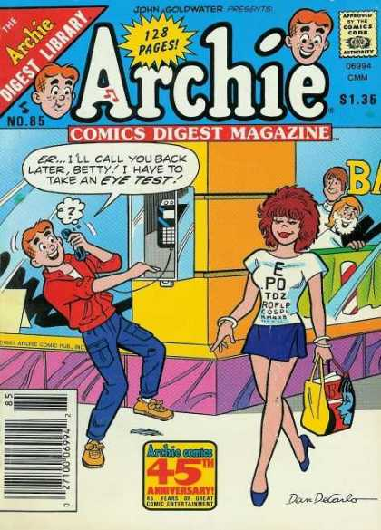 Archie Comics Digest 85