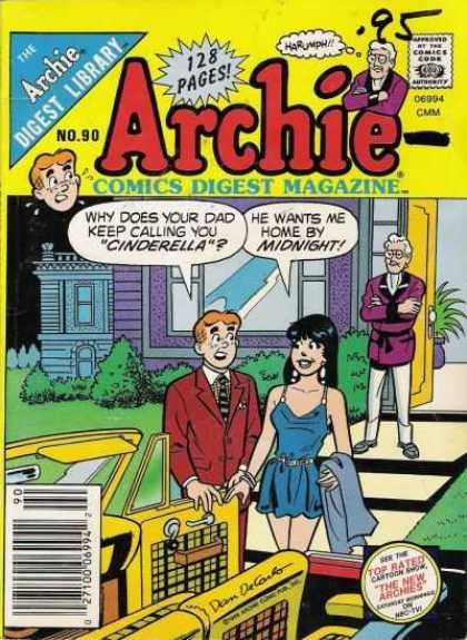 Archie Comics Digest 90