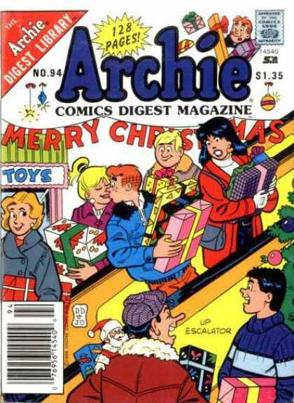 Archie Comics Digest 94 - Veronica - Betty - Jughead - Reggie - Presents
