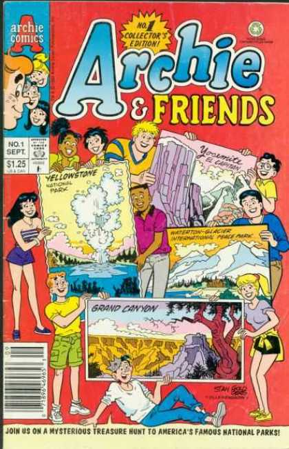 Archie & Friends 1 - Archie - Friends - Betty - Veronica - Grand Cayon