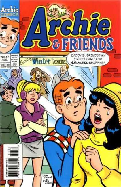 Archie & Friends 17 - Betty - Veronica - Winter Fashions - Shopping - Crying