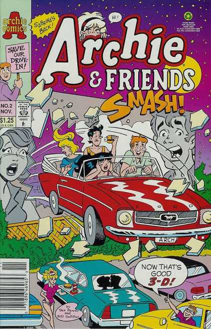 Archie & Friends 2 - Car - People - Smoke - Bette - Veronica