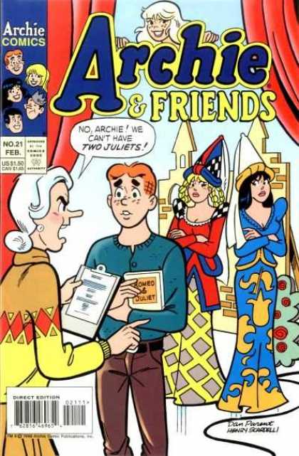 Archie & Friends 21 - Two Juliets - No 21 Feb - Play - Romeo U0026 Juliet - Angry Teacher