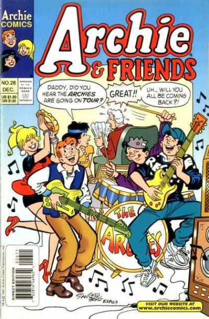 Archie & Friends 26 - Teen - Bands - Music - Classic Characters - Modern Age