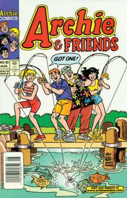 Archie & Friends 30 - Archie Comics - No30 - Aug - Got One - Fish