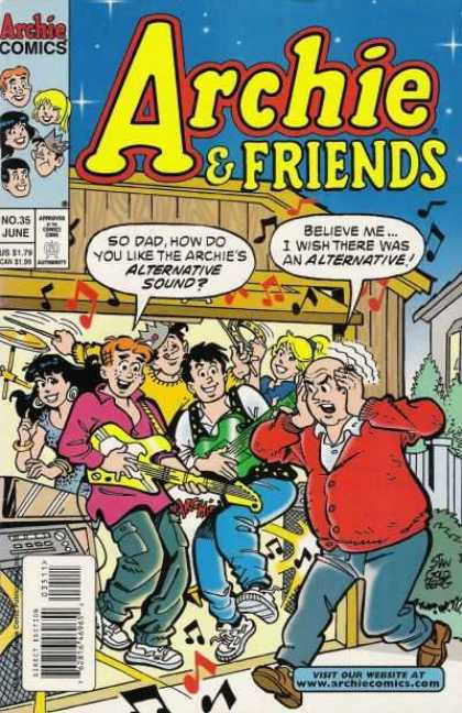 Archie & Friends 35 - Archie Comics - No35 June - Direct Edition - Wwwarchiecomicscom - Approved By Comics Code Authority