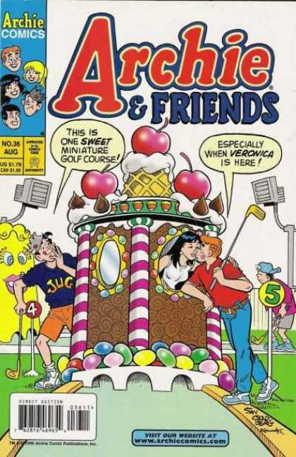 Archie & Friends 36 - Archie Comics - Cake - Girl - Boys - Direct Edition