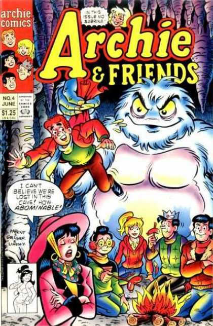 Archie & Friends 4 - Monster - Fire - Wood - Hat - Friends