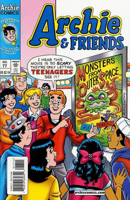 Archie & Friends 77 - Riverdale Stars - Teenagers - Monsters From Outer Space - Archiecomicscom