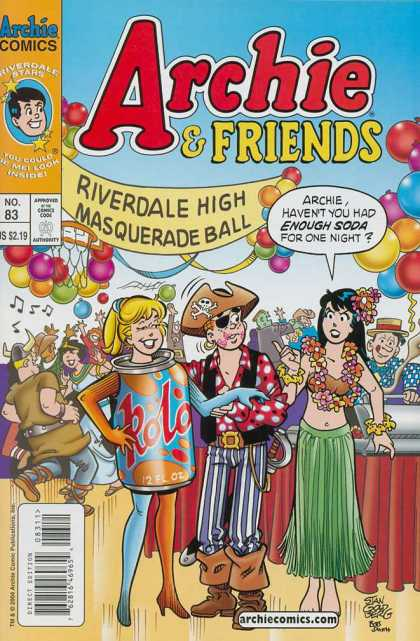 Archie & Friends 83 - Archie Series - Riverdale High - Masquerade Ball - Girls - Boys