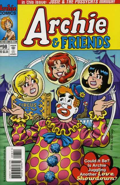 Archie & Friends 98 - Betty - Veronica - Clown - Juggling - Circus