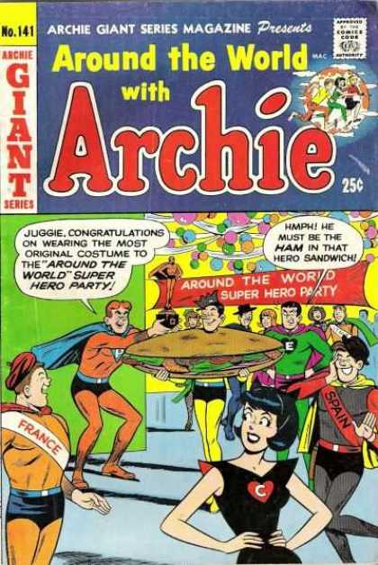 Archie Giant Series 141 - Super Hero - Party - Giant - France - Spain