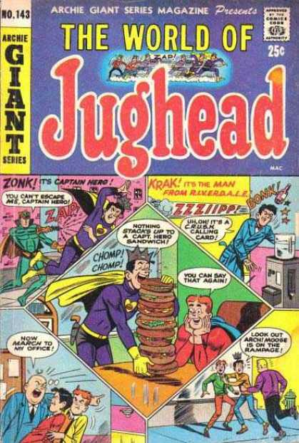 Archie Giant Series 143