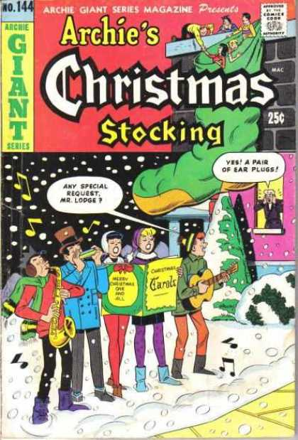 Archie Giant Series 144 - Archie - Humor - Teenagers - Christmas - Caroling