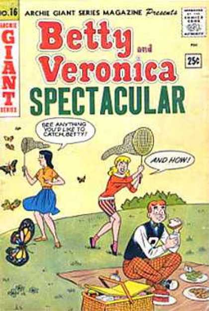 Archie Giant Series 16 - No 16 - Betty And Veronica - Spectacular - 25c