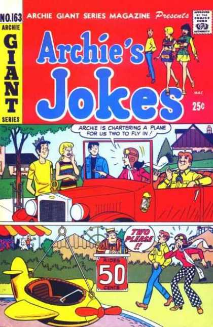 Archie Giant Series 163 - Jokes - Betty U0026 Veronica - Red Jeep - Jughead - Reggie