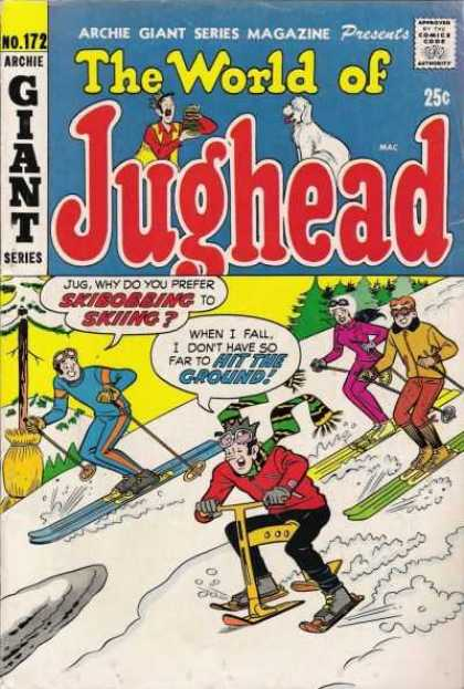 Archie Giant Series 172 - Archie - Veronica - Reggie - Snow - Skis