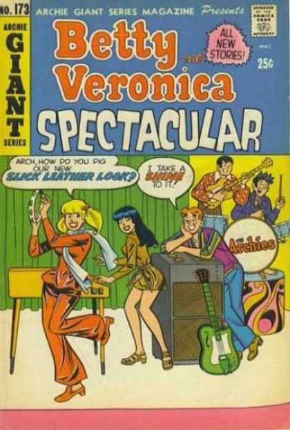Archie Giant Series 173 - Approved By The Comics Code Authority - No173 - Betty - Veronica - Musical Instrument