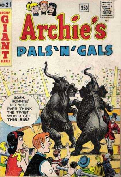 Archie Giant Series 21