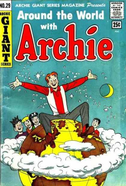 Archie Giant Series 29 - World - Veronica - Jughead - Moon - Clouds