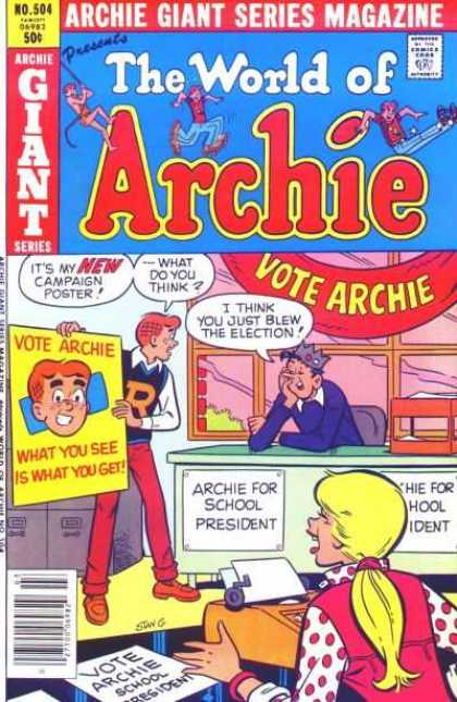 Archie Giant Series 504