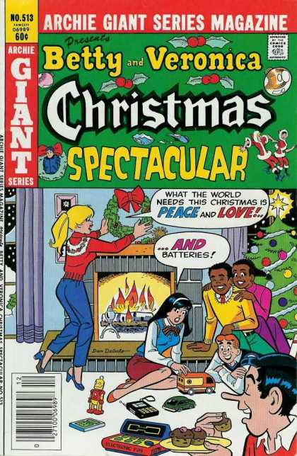 Archie Giant Series 513 - No 513 - Betty - Christmas Spectacular - Veronica - Jugheads Pals